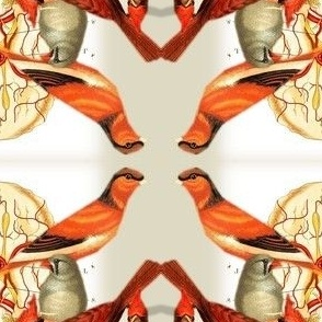 Vintage Printable - Birds and Brains
