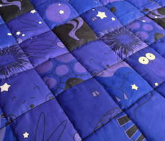 Woodland (Lg) Night Quilt