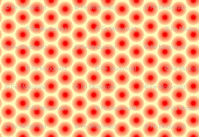 spotted blooms red cartwheels small simple