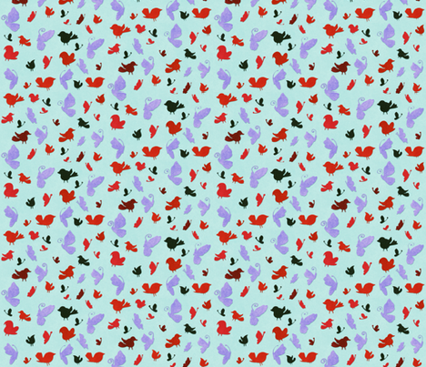 Little Flight fabric by jadegordon on Spoonflower - custom fabric