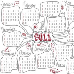 Vintage Calendar 2011