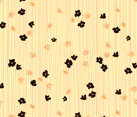 spotted blooms small fabric by fiona_mcdonald_juicyapple on Spoonflower - custom fabric