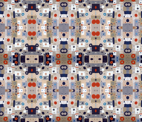 Fire in Cairo fabric by cloudyfriday on Spoonflower - custom fabric