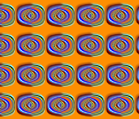 Hippy Days II large fabric by elephant_booty_studio on Spoonflower - custom fabric