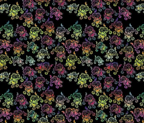 Nature's Screechers fabric by whatsit on Spoonflower - custom fabric