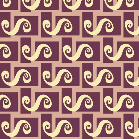 Bento Spilling Spirals fabric by boris_thumbkin on Spoonflower - custom fabric