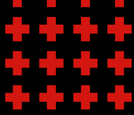 red_cross fabric by a-lab on Spoonflower - custom fabric