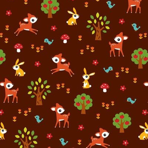 happy woodland