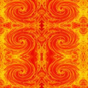 fire swirl 18 x 18