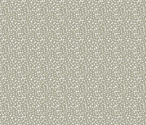 Messy Polka Dots Mocha  fabric by dolphinandcondor on Spoonflower - custom fabric