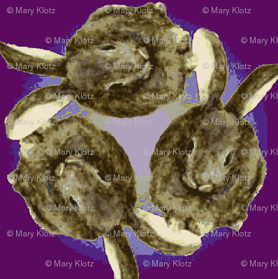 sitting_rabbit_circle/3 plum