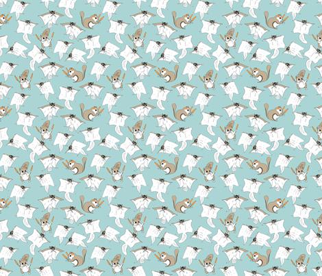 flying squirrels fabric by babysisterrae on Spoonflower - custom fabric