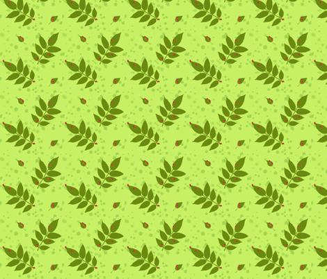 Ladybugs fabric by oranshpeel on Spoonflower - custom fabric