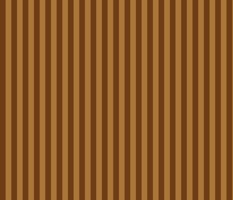 Stripedy HOOT! ~ Brown fabric by asilo on Spoonflower - custom fabric