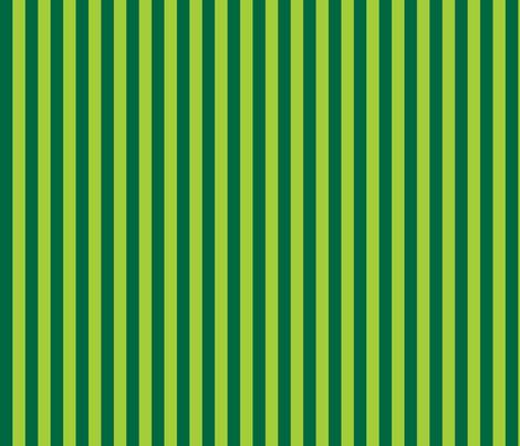 Stripedy HOOT! ~ Green fabric by asilo on Spoonflower - custom fabric
