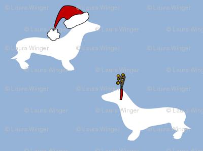 dachshunds for christmas