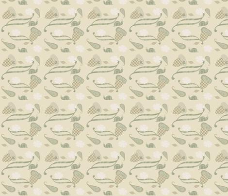 acornsnail fabric by heidikaether on Spoonflower - custom fabric