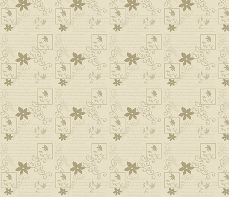 poetry fabric by heidikaether on Spoonflower - custom fabric