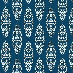 WINDOW blue/white