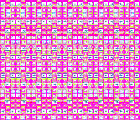 Bright Rectangles fabric by robin_rice on Spoonflower - custom fabric