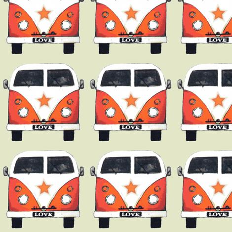 star camper fabric by scrummy on Spoonflower - custom fabric