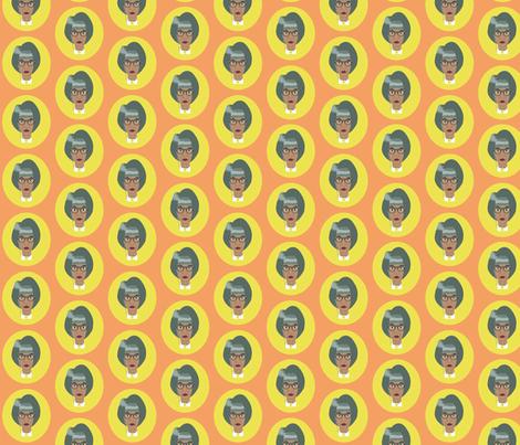 Ida Blankenship Small fabric by dolphinandcondor on Spoonflower - custom fabric