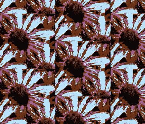 Hybrid Flower fabric by donna_kallner on Spoonflower - custom fabric