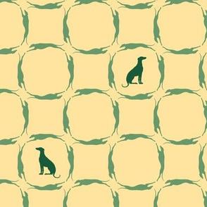 Green Greyhounds gg5 ©2010 by Jane Walker
