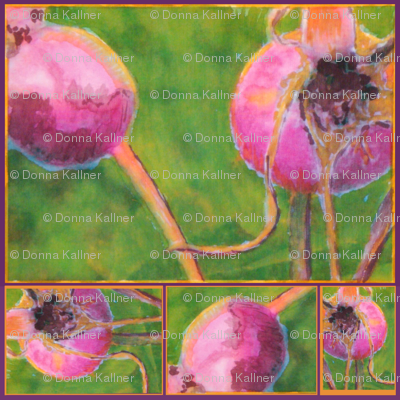 Rose Hip Collage