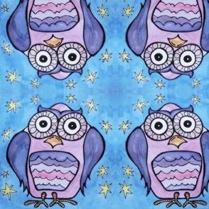 Glowing Owls