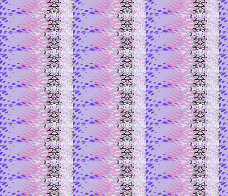 Icy Stripe fabric by elephant_booty_studio on Spoonflower - custom fabric