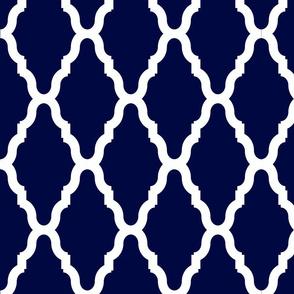 Blue Lattice Lg Reverse