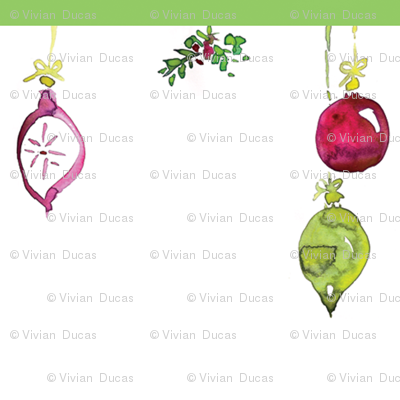 C'EST LA VIV™ Deck the Halls Collection_MISTLETOE