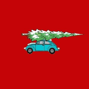 VW Bringing Home the Tree