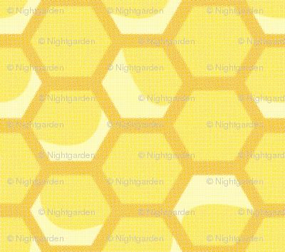 Medium Vintage Honeycomb