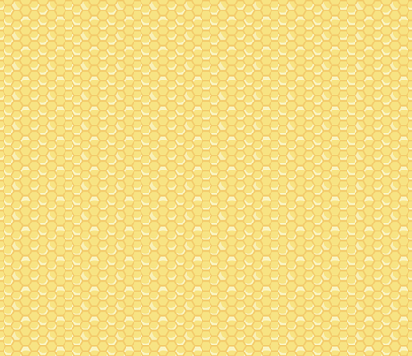 Tiny Honeycomb fabric by nightgarden on Spoonflower - custom fabric