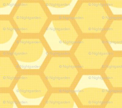 Tiny Vintage Honeycomb
