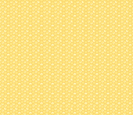 Tiny Vintage Honeycomb fabric by nightgarden on Spoonflower - custom fabric