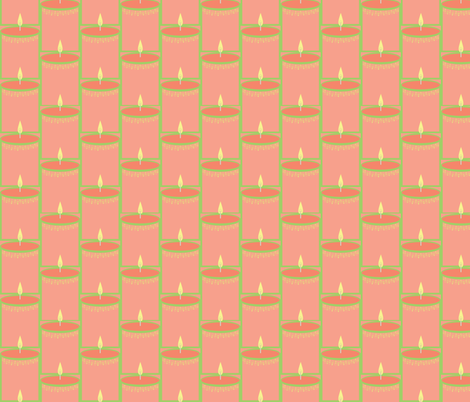 candle stack fabric by luluhoo on Spoonflower - custom fabric