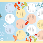 2019 Four Seasons Calendar