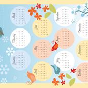 2019 Four Seasons Calendar