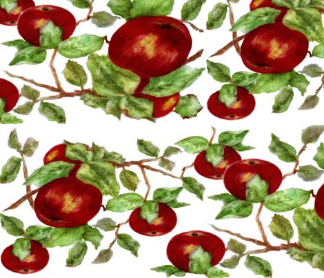 Apples fabric by paragonstudios on Spoonflower - custom fabric