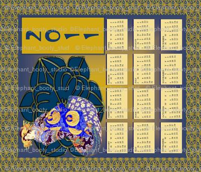 Kimono Calendar 2011