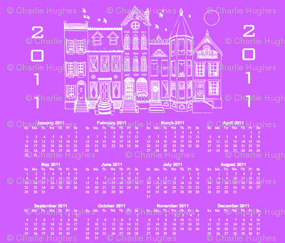 Contest Houses Calendar 2011