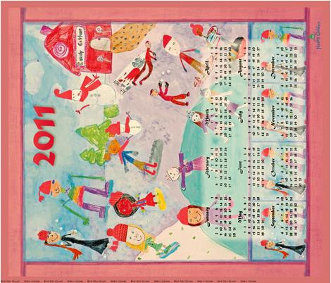 CalendarNoah2011-1tif fabric by noah's_children on Spoonflower - custom fabric