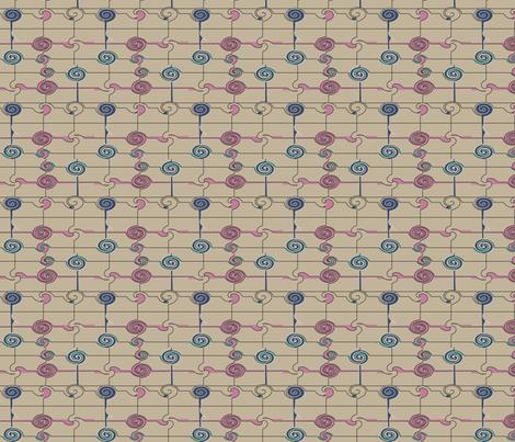 twirl_2b_s fabric by soobloo on Spoonflower - custom fabric