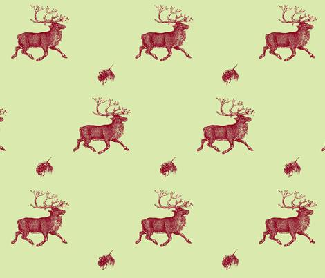 Reindeer Games fabric by hauteideas on Spoonflower - custom fabric
