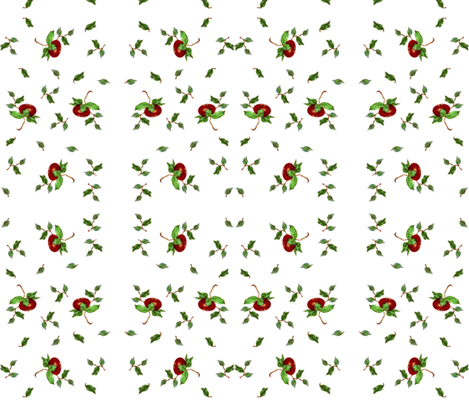 "Apple ""petite' fabric by paragonstudios on Spoonflower - custom fabric"