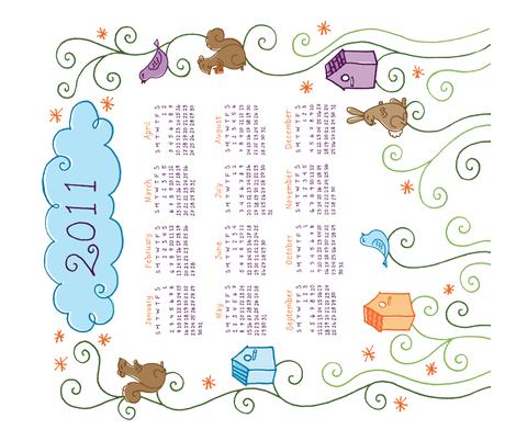 Frolicking Animals 2011  fabric by ginamatarazzo on Spoonflower - custom fabric