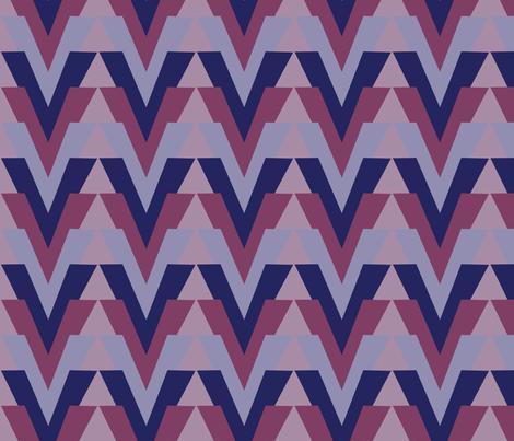 Arrow Alt Grape fabric by dolphinandcondor on Spoonflower - custom fabric